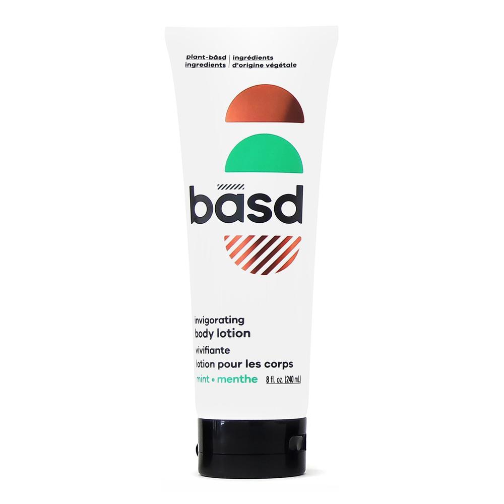 basd mint lotion tube