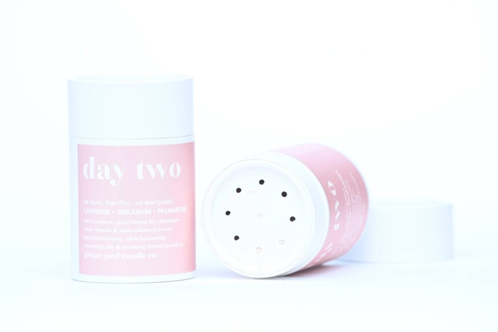 Ginger June Candle Co. Day Two Natural Dry Shampoo