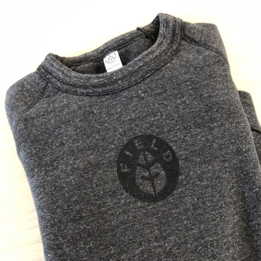 FIELD Alternative Apparel Charcoal Sweatshirt