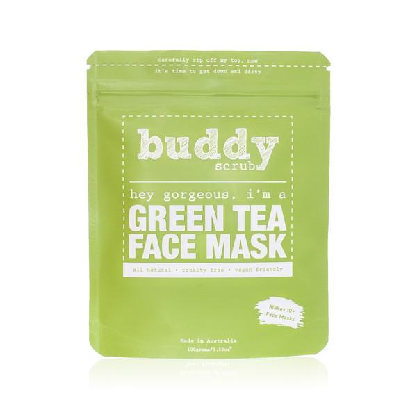 Buddy Scrub Green Tea Face Mask