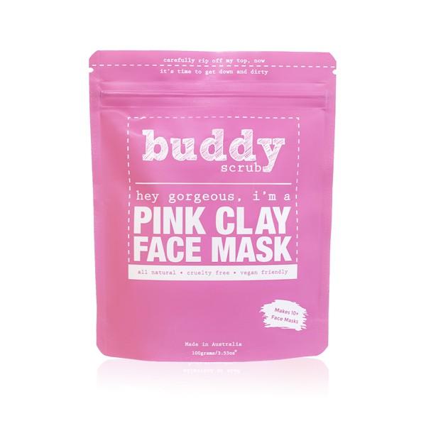 Buddy Scrub Pink Clay Face Mask