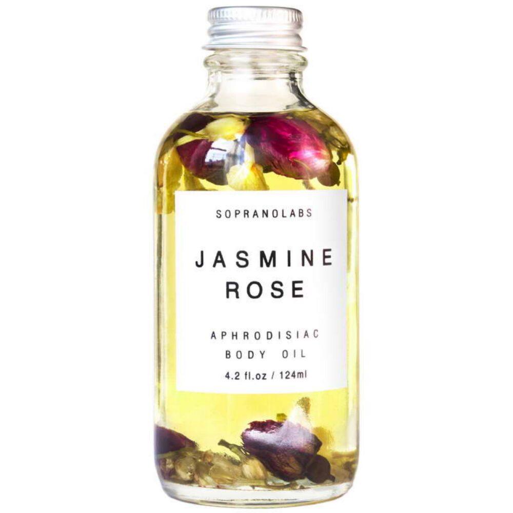 SopranoLabs Jasmine & Rose Sensual Body Oil