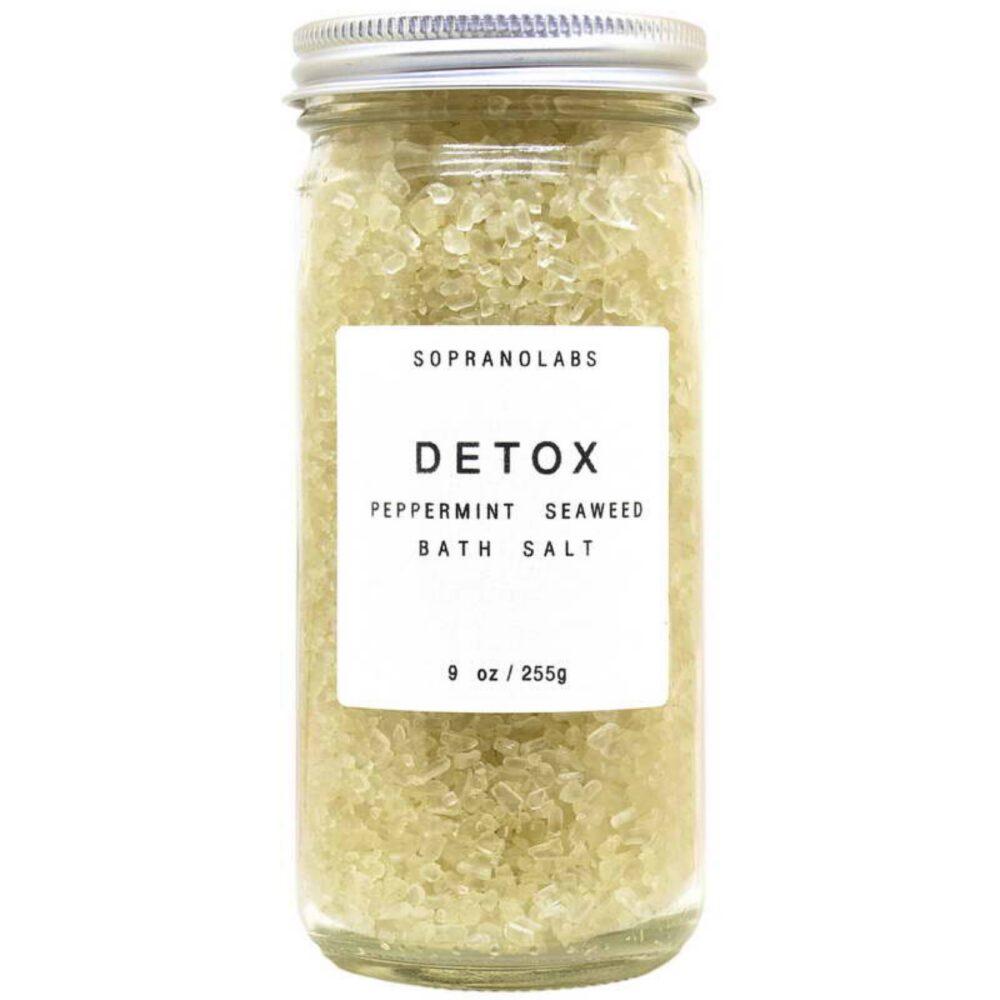 SopranoLabs Peppermint Detox Bath Salt