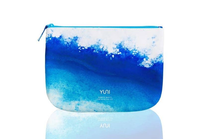 YUNI WAVE Blue Ombre Travel Bag