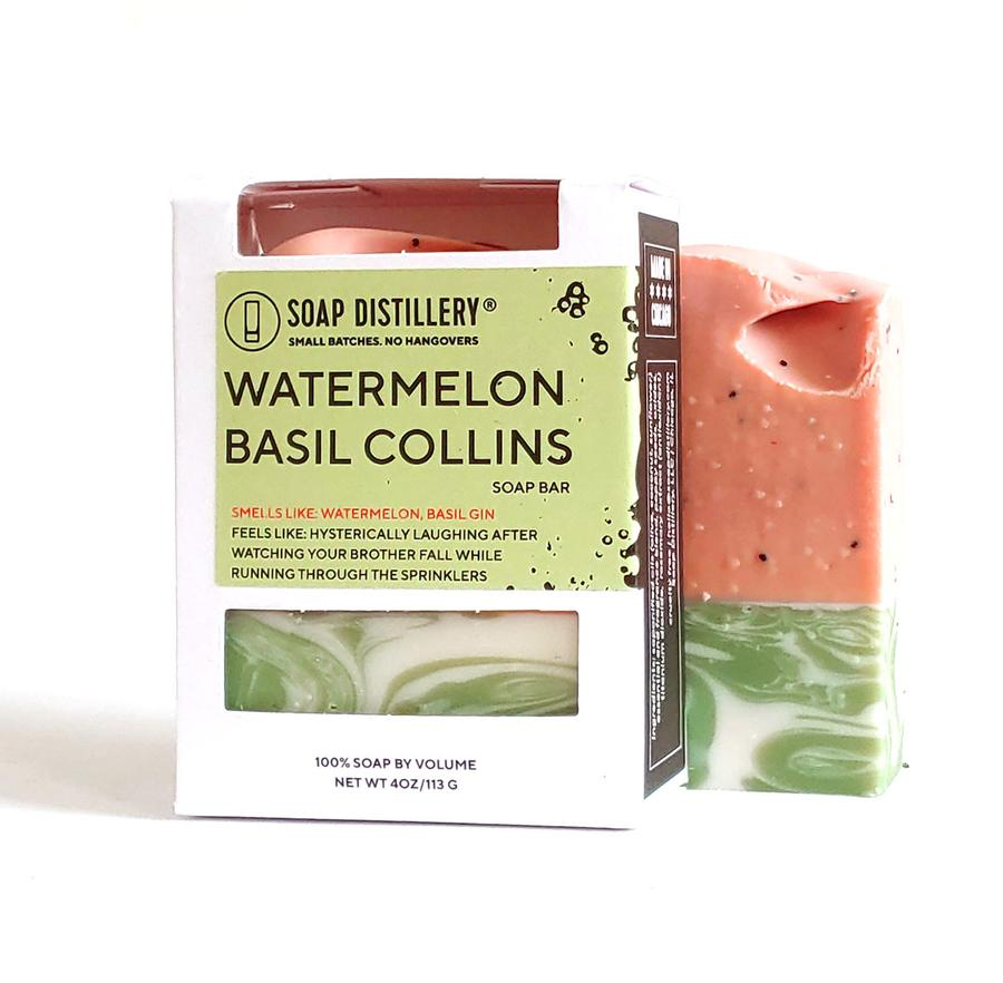 soap distillery watermelon basil
