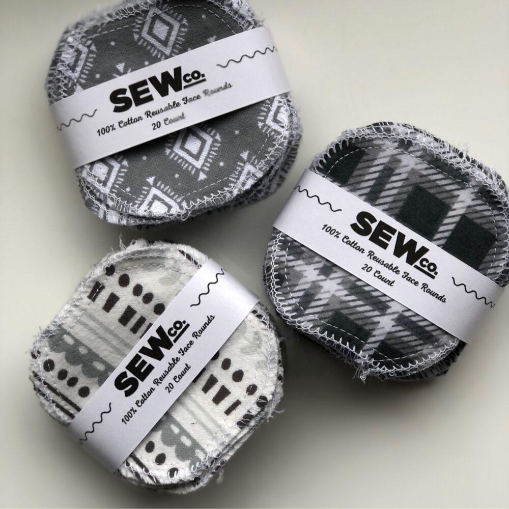 Sew.co Reusable Facial Rounds