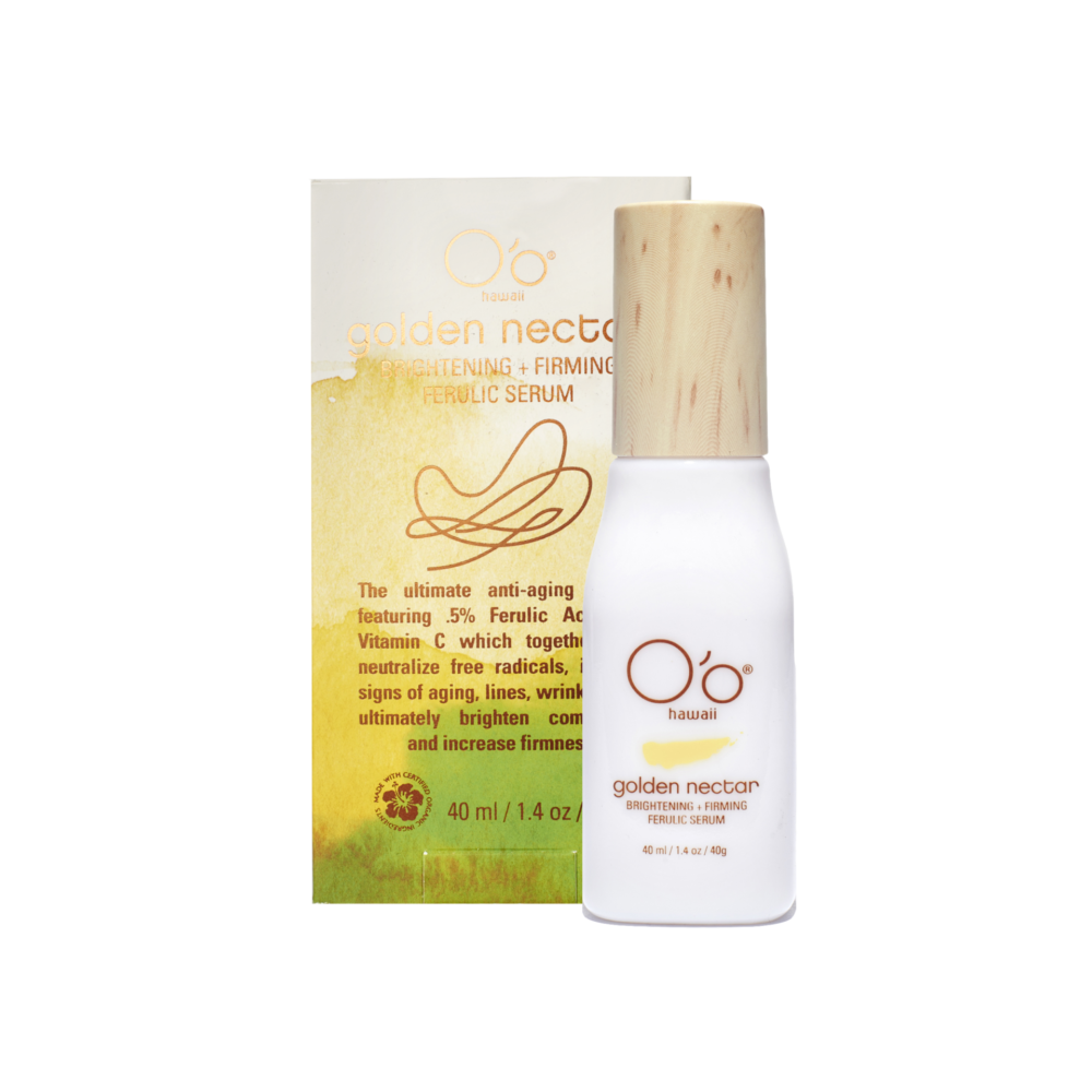 O'o Hawaii Golden Nectar Brightening and Firming Ferulic Serum