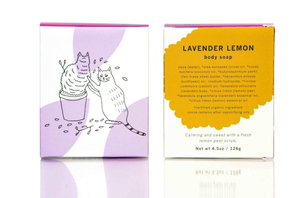 MMT lav lemon soap