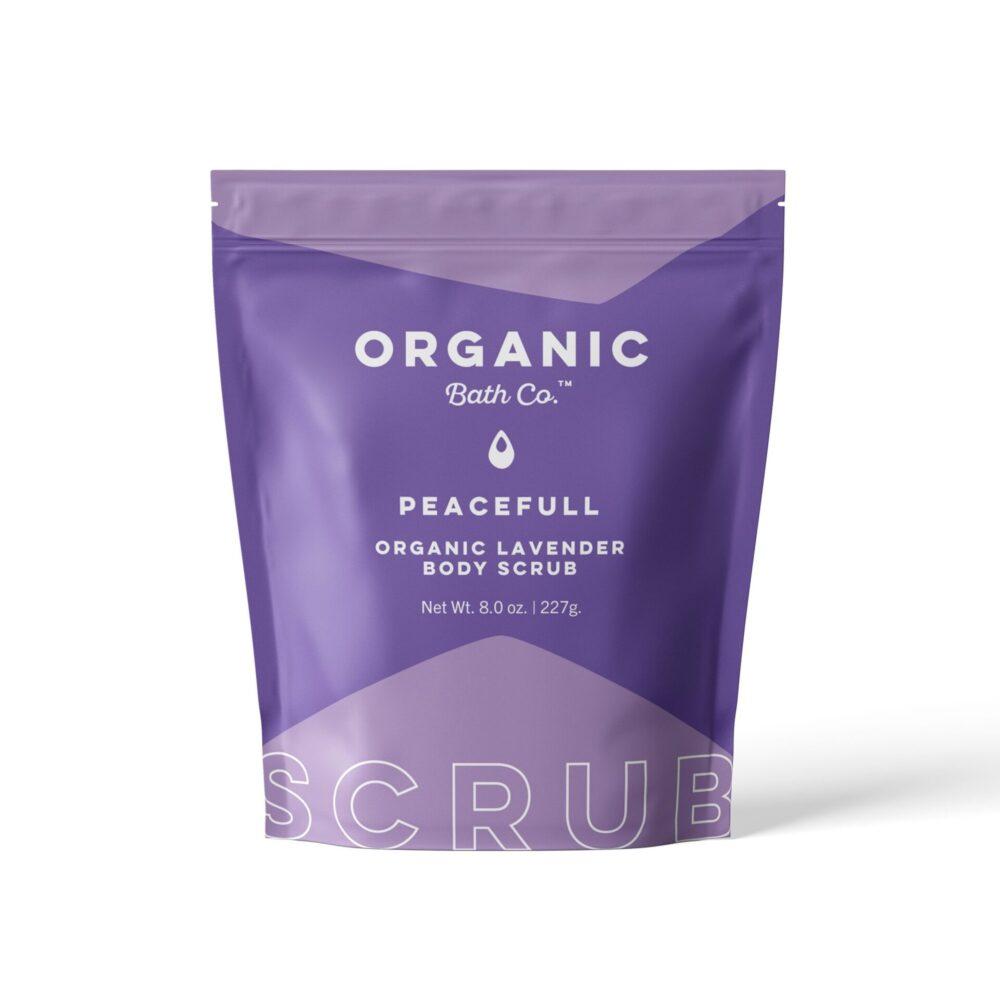 organic bath lav scrub